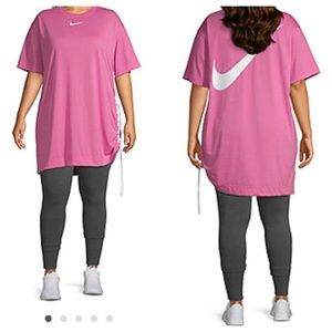 Nike Dresses - Nike Short Sleeve T Shirt Dress Plus 1X